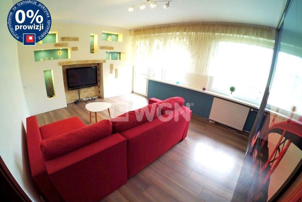 luksusowy salon w ekskluzywnym apartamencie do sprzedaży w Inowrocławiu