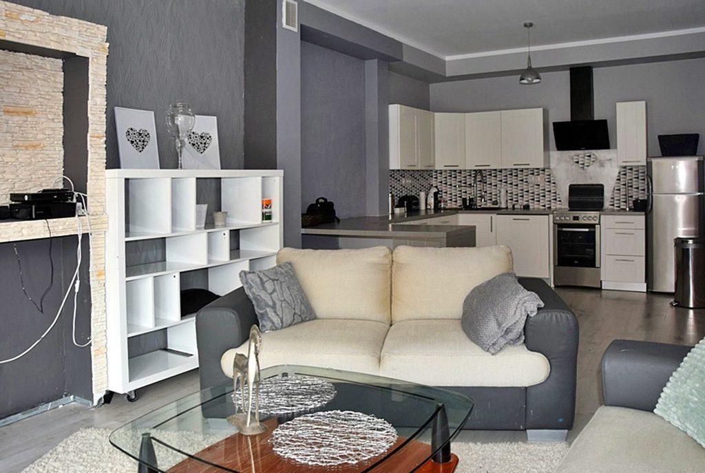 nowoczesne wnętrze ekskluzywnego apartamentu do wynajęcia w Bolesławcu