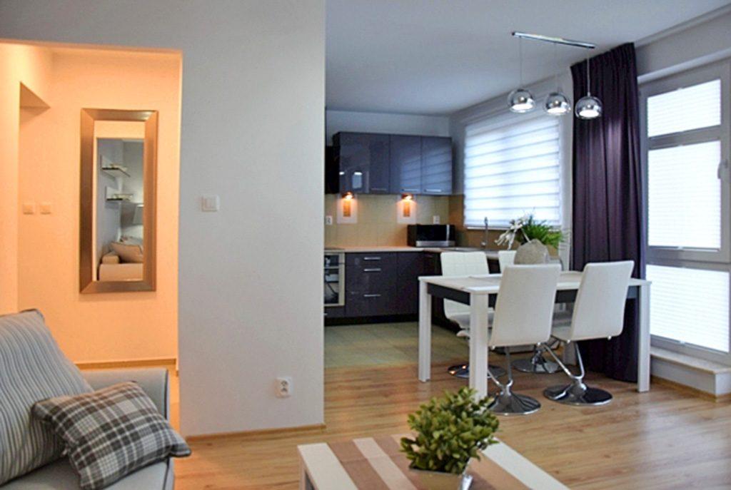 ekskluzywne wnętrze luksusowego apartamentu do wynajęcia w Słupsku