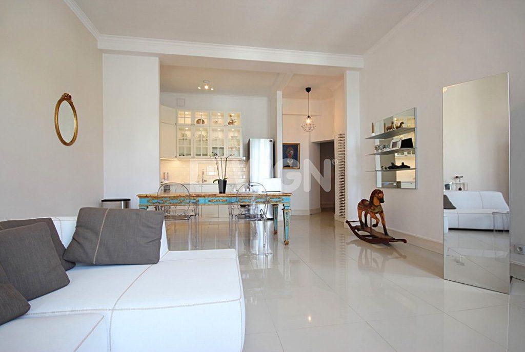 ekskluzywne wnętrze komfortowego apartamentu do wynajęcia w Szczecinie