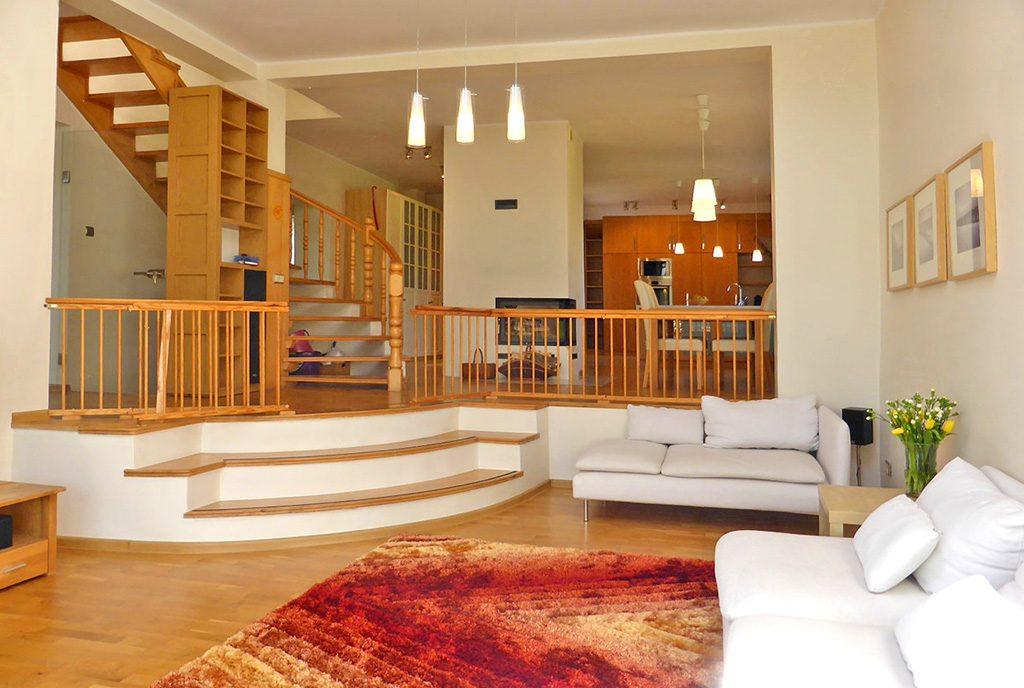 na zdjęciu ekskluzywne wnętrze luksusowej willi do sprzedaży w Kwidzynie
