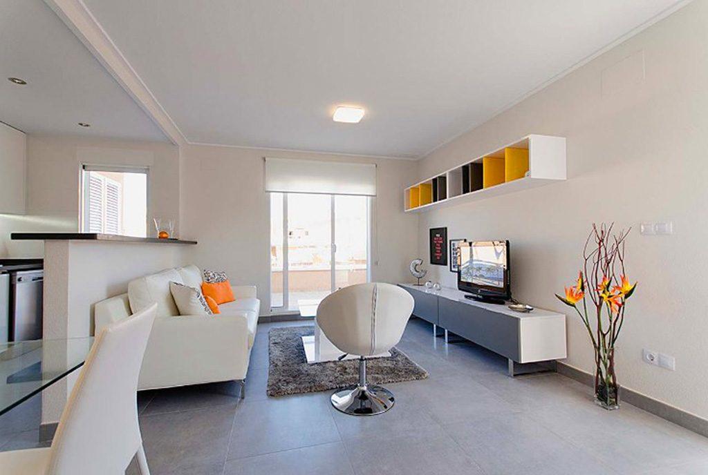 designerskie wnętrze ekskluzywnego apartamentu do sprzedaży w Hiszpanii