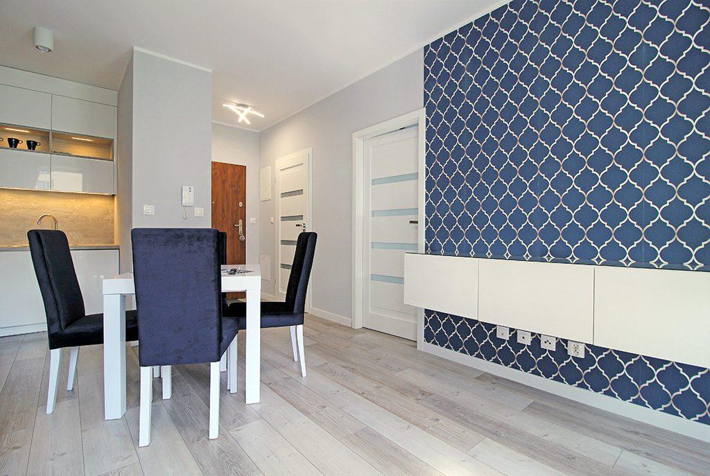 luksusowy salon w ekskluzywnym apartamencie do sprzedaży w Krakowie