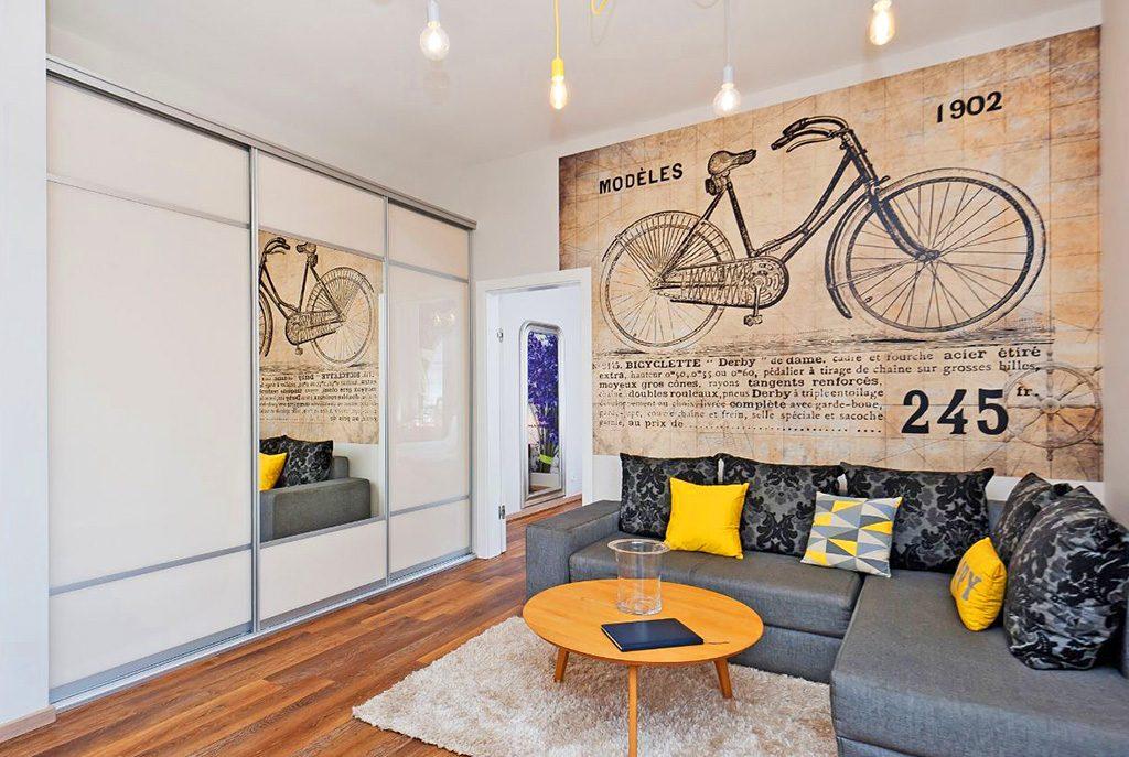 designerskie wnętrze ekskluzywnego apartamentu do wynajęcia w Krakowie