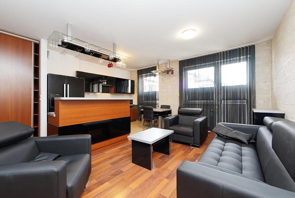 prestiżowy salon w ekskluzywnym apartamencie do wynajęcia w Tarnowie