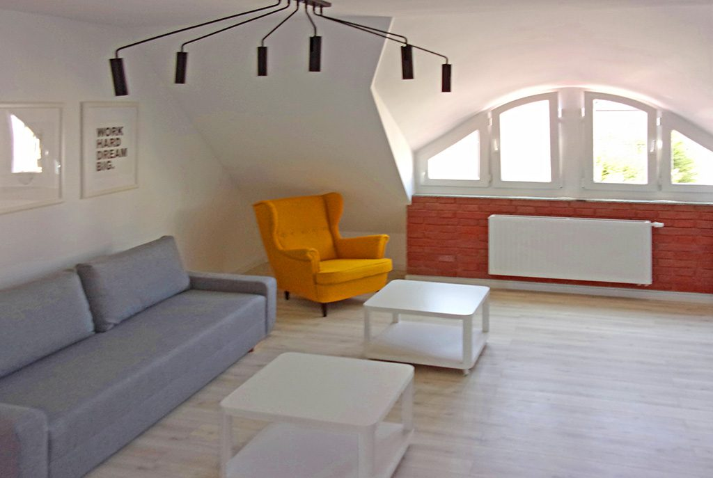 wysoki standard wnętrza ekskluzywnego apartamentu do wynajęcia w okolicach Legnicy