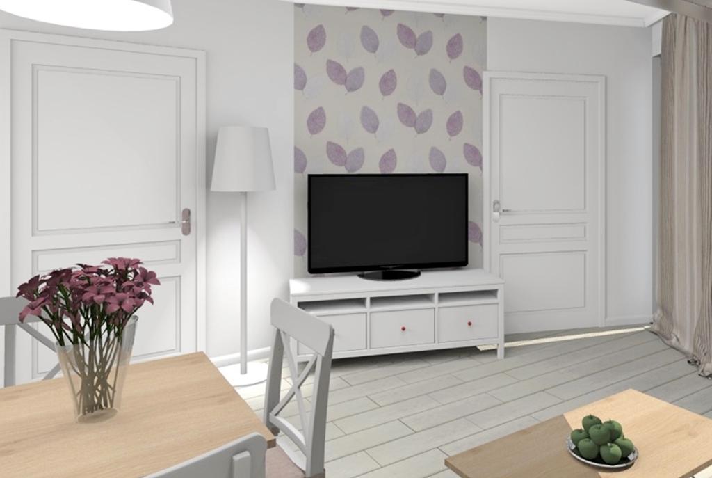 designerski salon w luksusowym apartamencie do sprzedaży w Szczecinie