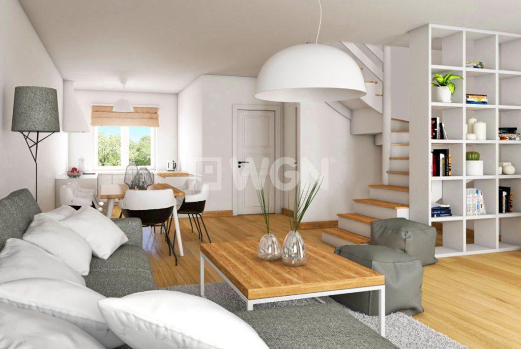 przestronne wnętrze luksusowego apartamentu do sprzedaży w Jeleniej Górze