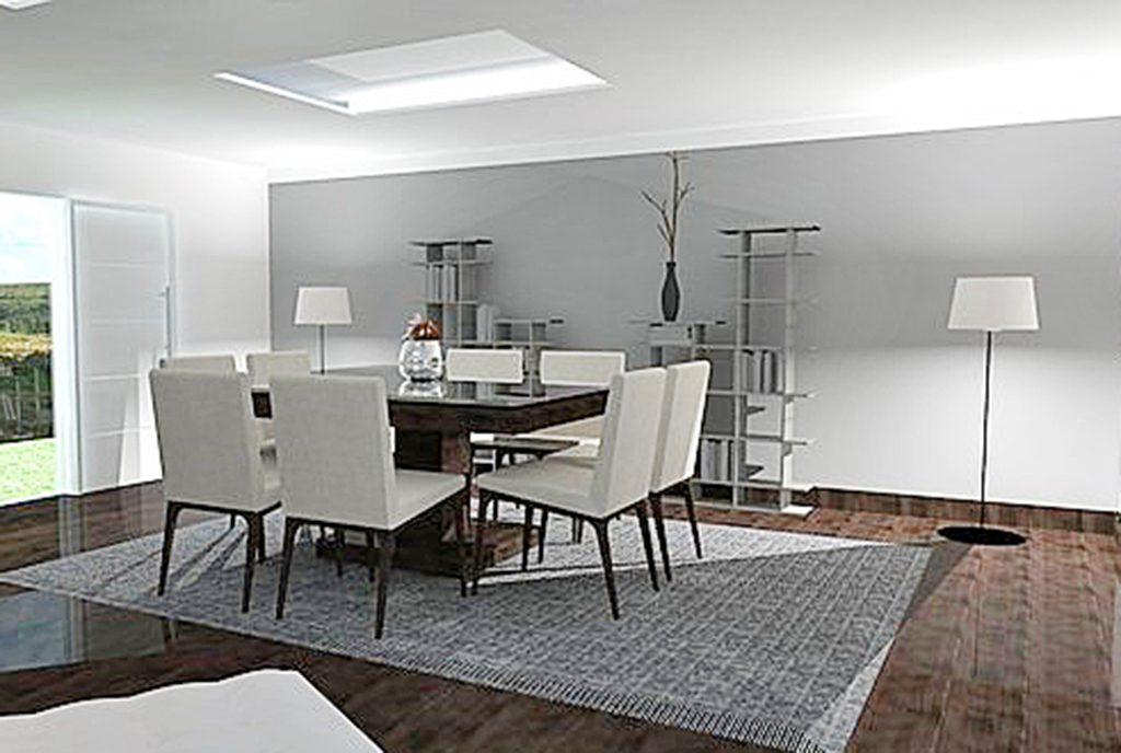 nowoczesny i prestiżowy salon w ekskluzywnym apartamencie do sprzedaży Kraków
