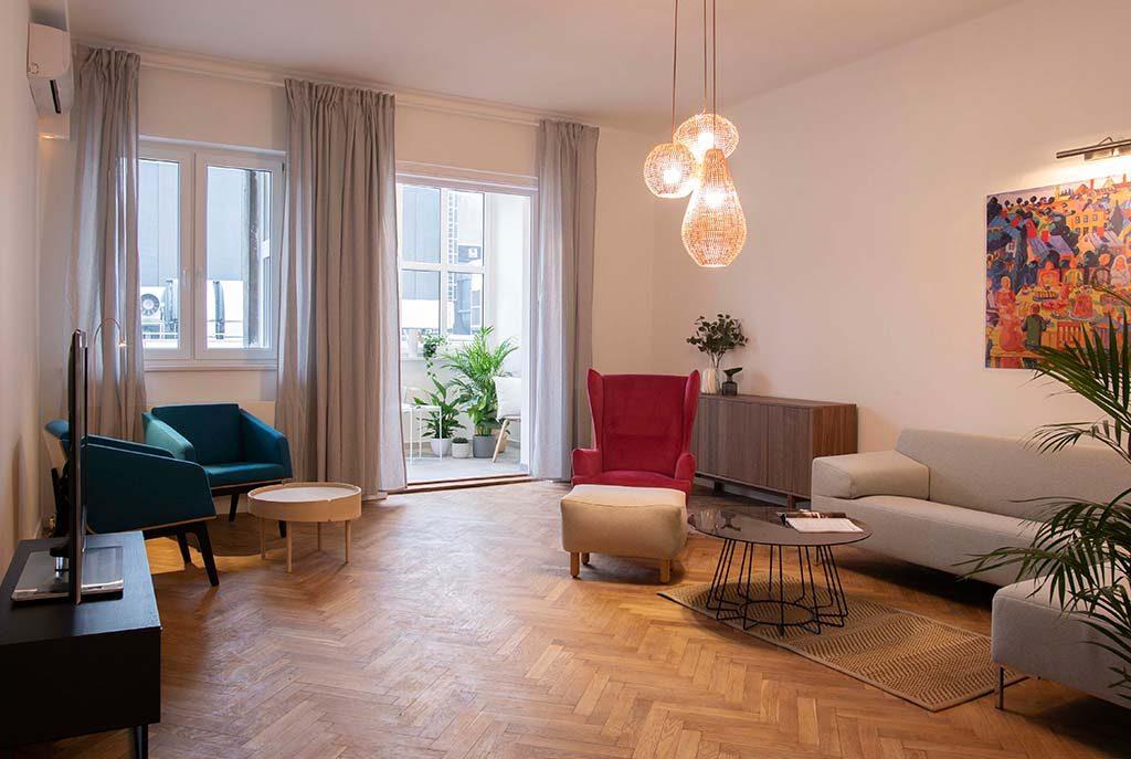 prestiżowy salon w ekskluzywnym apartamencie do sprzedaży Katowice