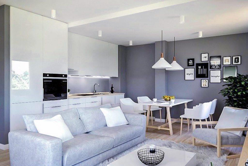 zaprojektowane w nowoczesnym designie wnętrze ekskluzywnego apartamentu do sprzedaży Kraków