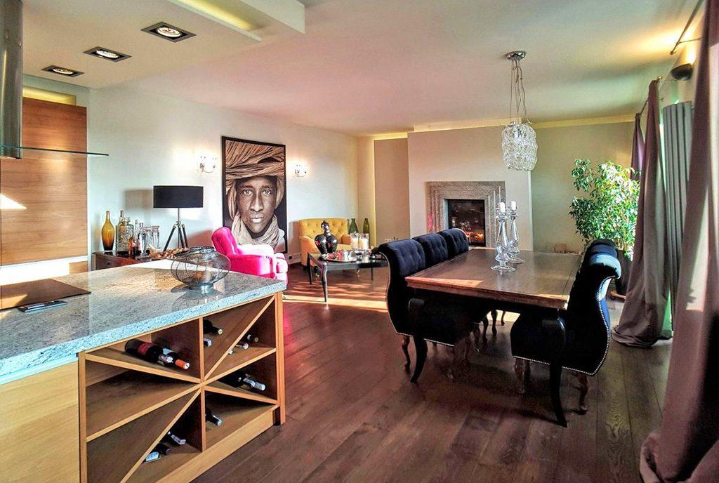nowoczesne wnętrze ekskluzywnego apartamentu do sprzedaży Łódź