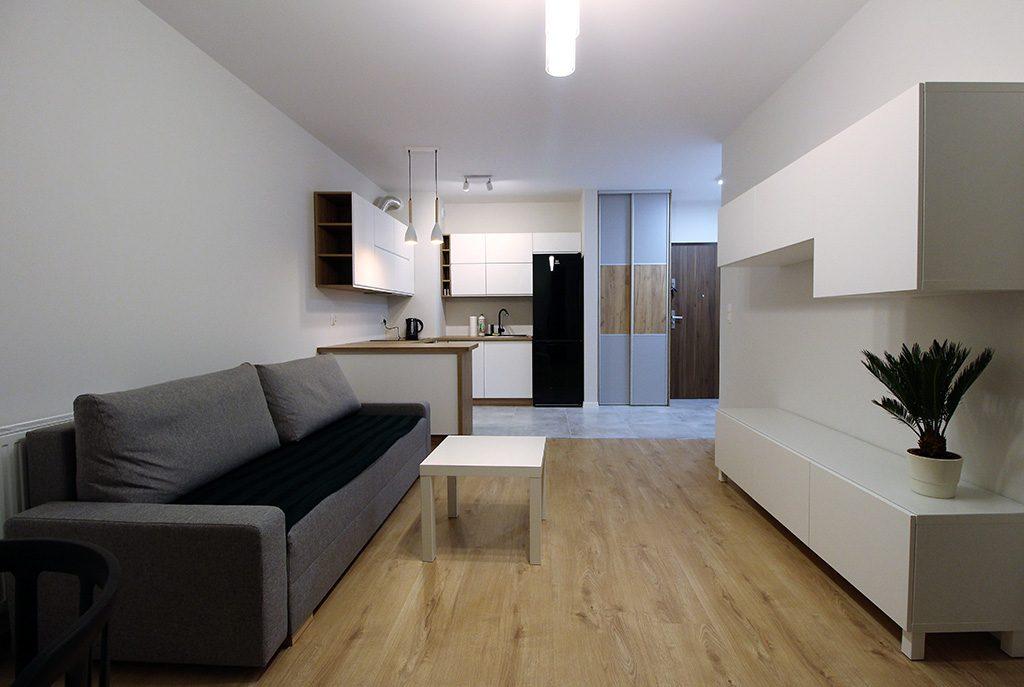 nowoczesne wnętrze luksusowego apartamentu do wynajęcia Kraków