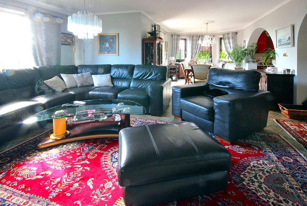 luksusowy salon w ekskluzywnej willi do sprzedaży Szczecin