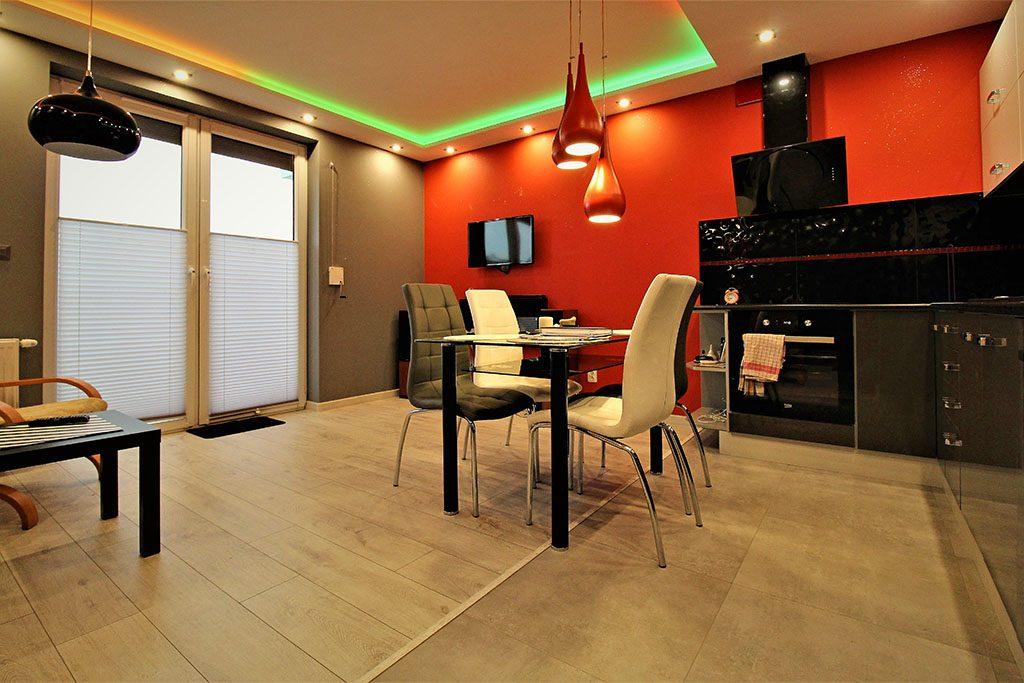 prestiżowy salon w ekskluzywnym apartamencie do wynajęcia Kraków