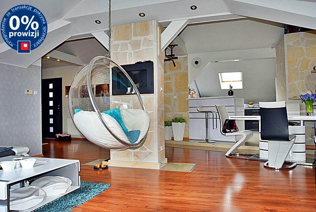 nowoczesny salon w luksusowym apartamencie do sprzedaży Bolesławiec