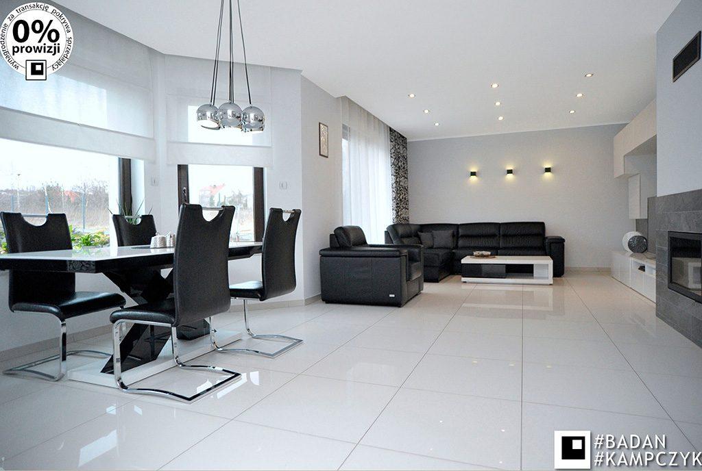 luksusowy salon w ekskluzywnej willi do sprzedaży Katowice (okolice)