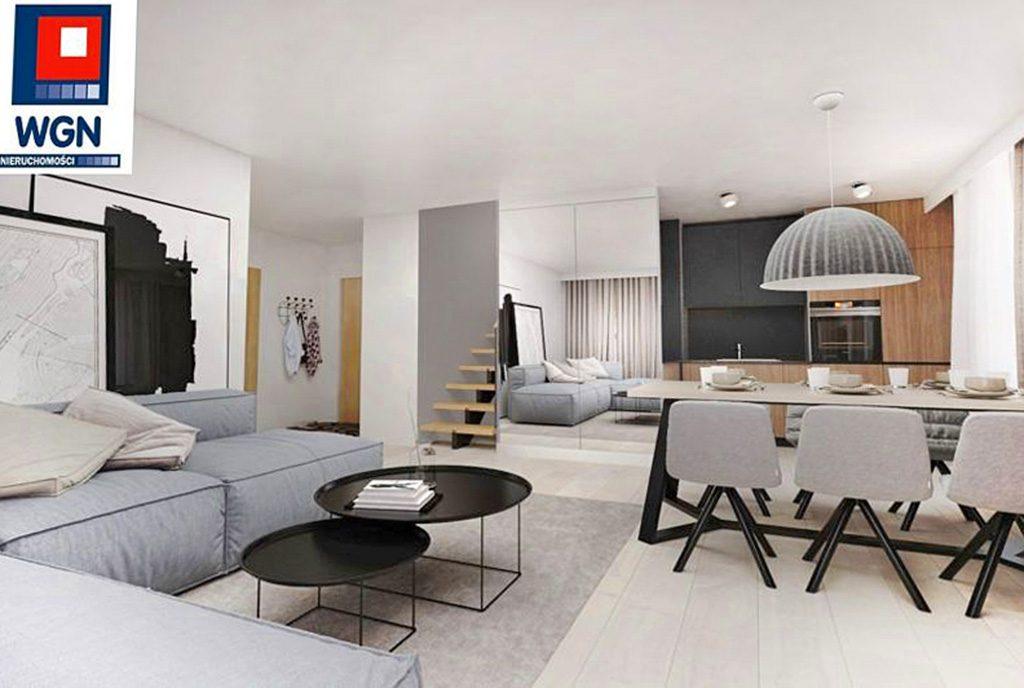 komfortowe, zaprojektowane w nowoczesnym designie wnętrze ekskluzywnego apartamentu do sprzedaży Gdańsk