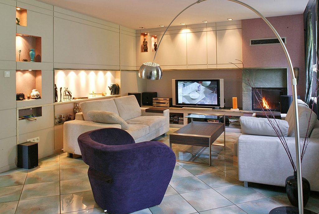 komfortowy salon w luksusowym apartamencie do sprzedaży Grudziądz