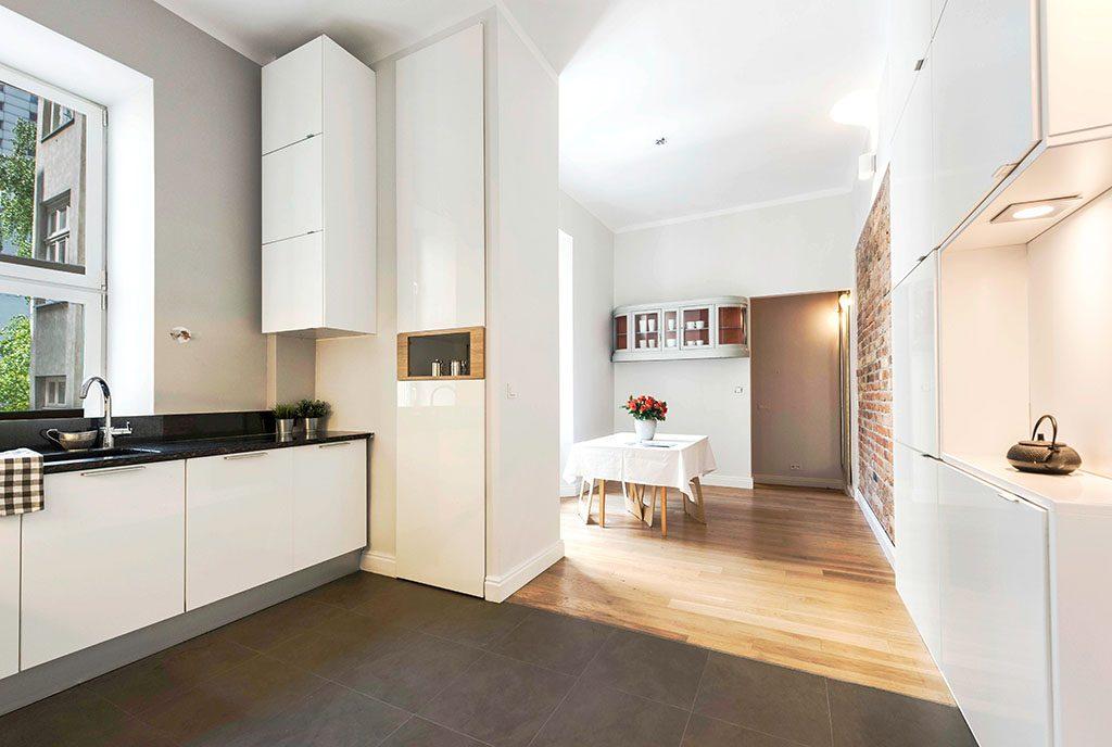 nowoczesne wnętrze ekskluzywnego apartamentu do sprzedaży Warszawa