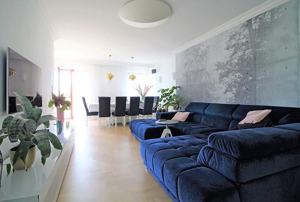 wytworny salon w ekskluzywnym apartamencie do sprzedaży Kraków