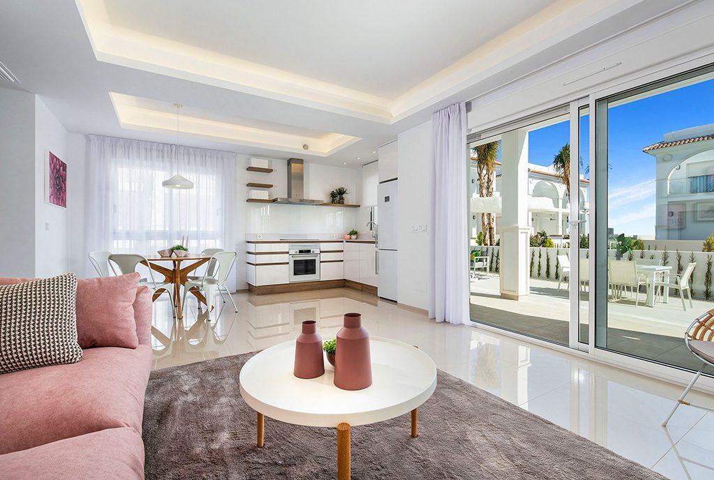 prestiżowy salon w ekskluzywnym apartamencie do sprzedaży Hiszpania (Ciudad Quesad)