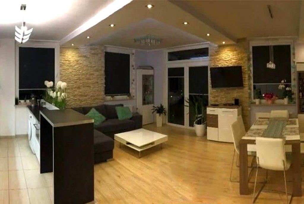 kameralny salon w luksusowym apartamencie na sprzedaż Gdańsk