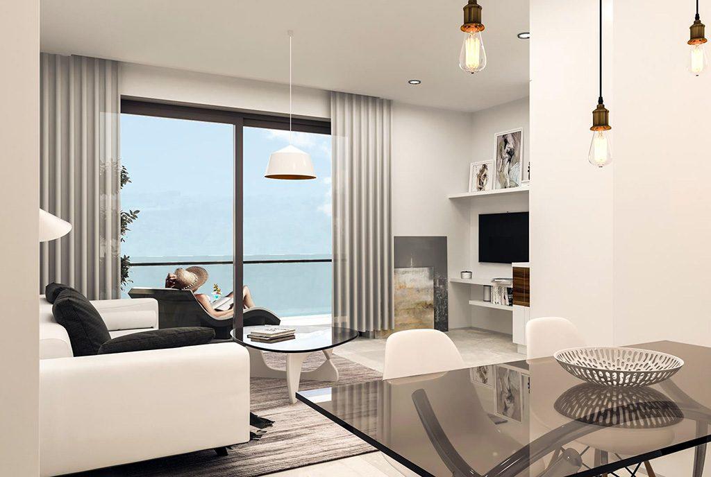 prestiżowy salon w ekskluzywnym apartamencie na sprzedaż Hiszpania (Torreviej)