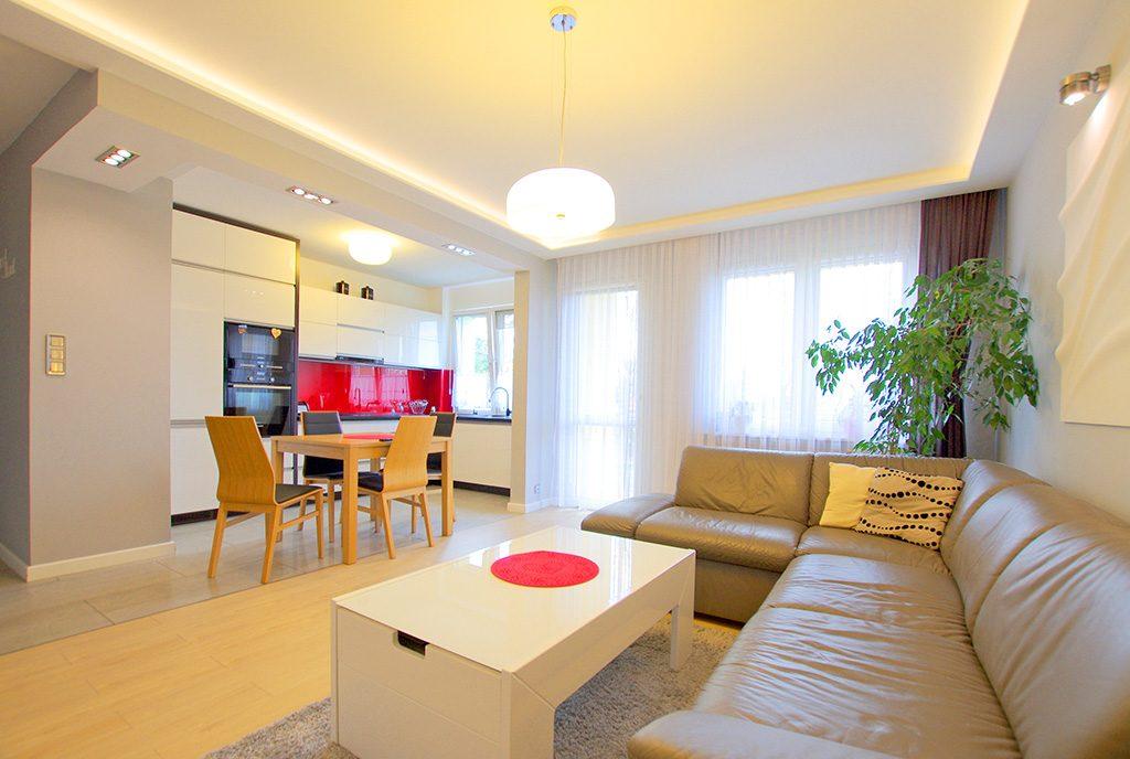komfortowe wnętrze ekskluzywnego apartamentu do sprzedaży Legnica (okolice)