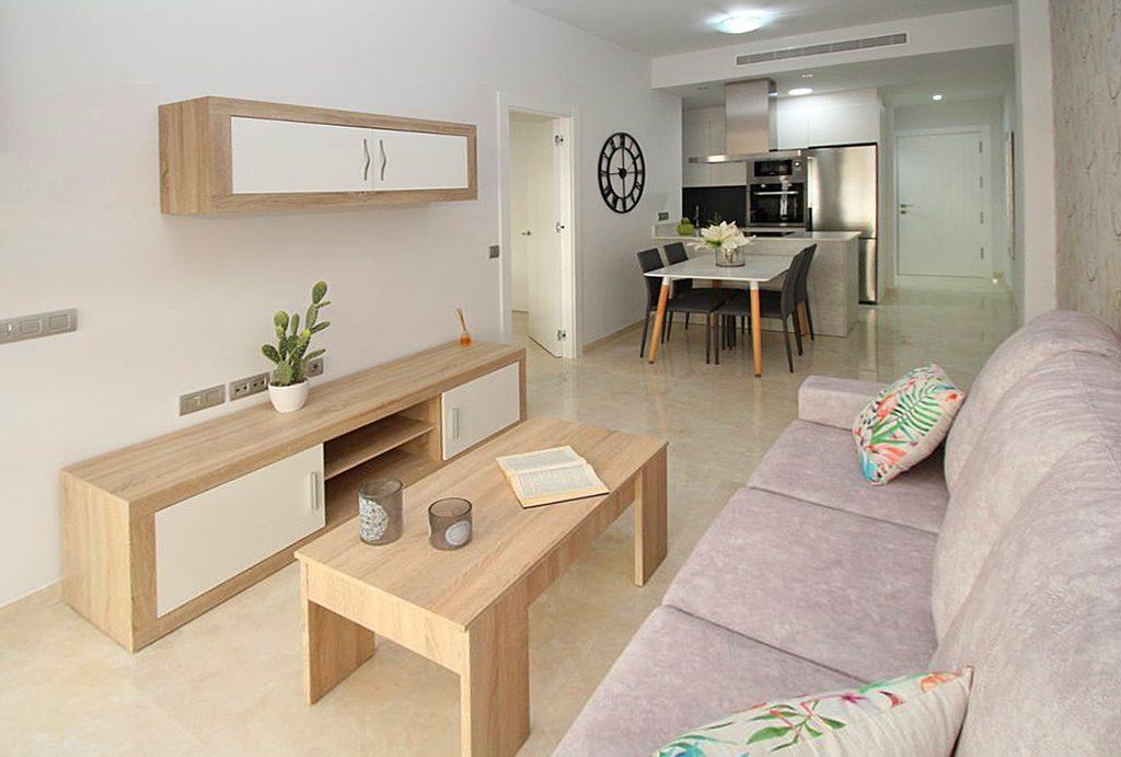 prestiżowe wnętrze ekskluzywnego apartamentu do sprzedaży Torreviej (Hiszpania)