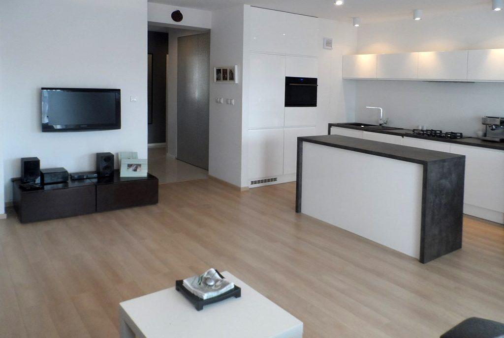 niezwykle nowoczesny design wnętrza ekskluzywnego apartamentu do wynajęcia Piotrków Trybunalski
