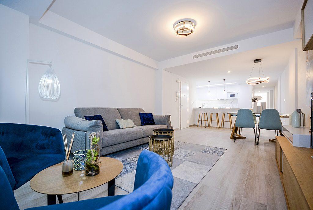prestiżowy salon w ekskluzywnym apartamencie do sprzedaży Hiszpania (Orihuel)
