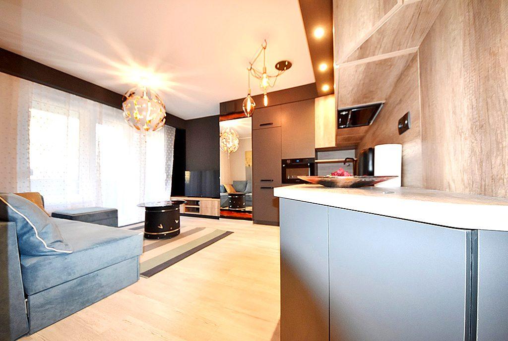 nowoczesny design wnętrza ekskluzywnego apartamentu do wynajęcia Inowrocław
