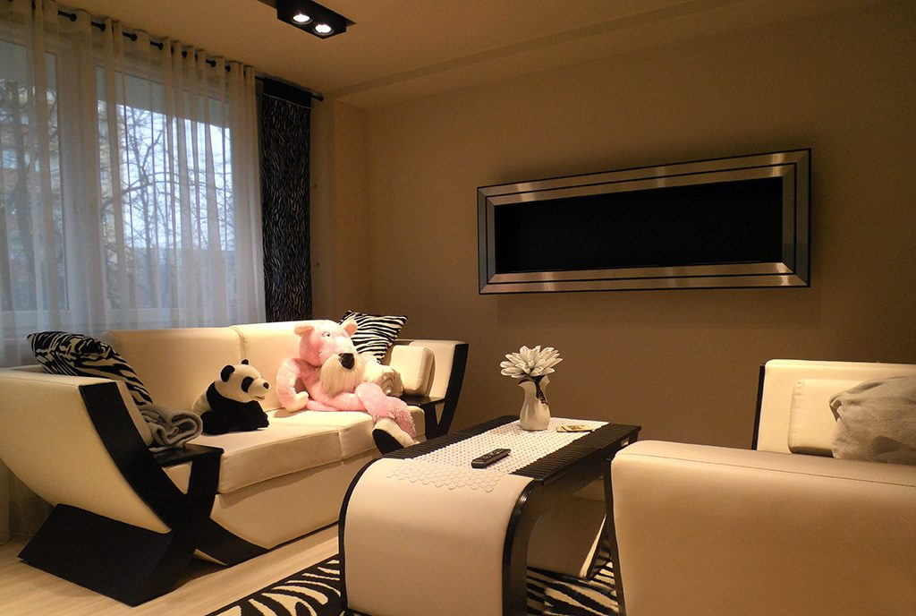 ekskluzywny salon w luksusowym apartamencie do wynajęcia Częstochowa