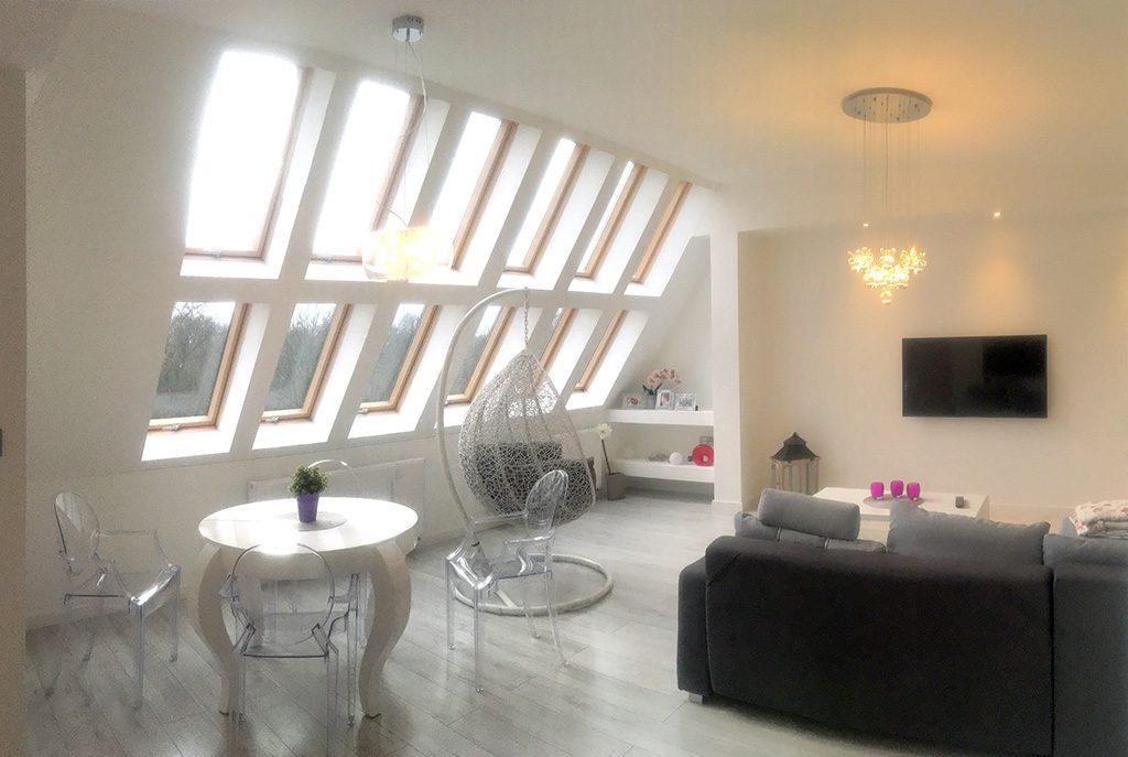 prestiżowe wnętrze luksusowego apartamentu do wynajmu Szczecin