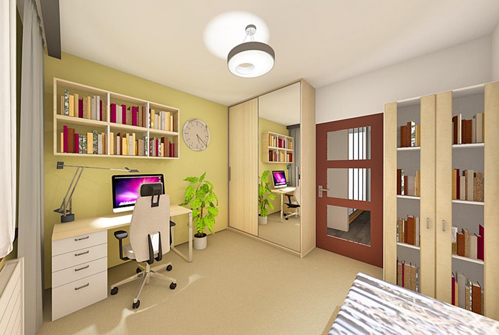 prywatna sypialnia w luksusowym apartamencie na sprzedaż Łódź