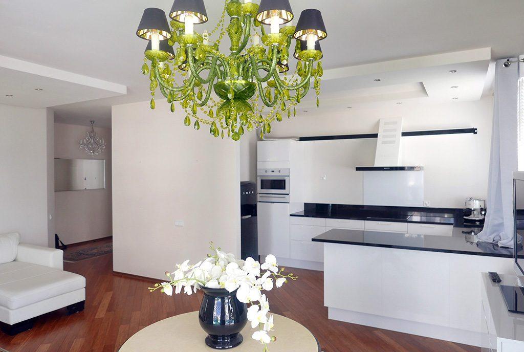 komfortowe wnętrze luksusowego apartamentu na sprzedaż Gdynia