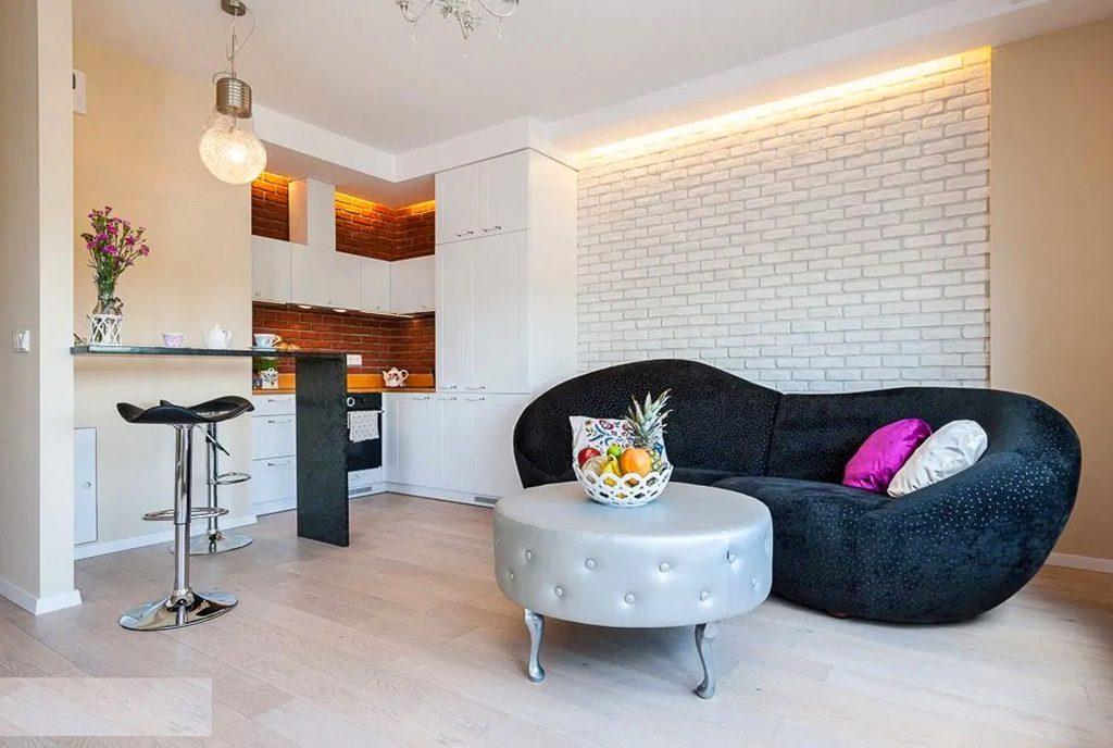 kameralny salon w ekskluzywnym apartamencie do sprzedaży Katowice