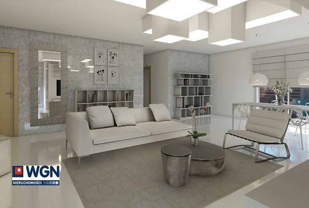 komfortowy salon w luksusowym apartamencie na sprzedaż Gdańsk