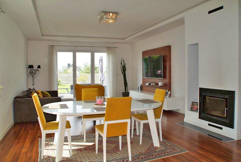 komfortowe wnętrze ekskluzywnej rezydencji do wynajęcia Słupsk