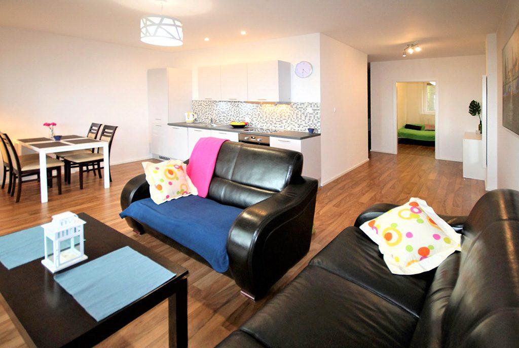 komfortowe wnętrze ekskluzywnego apartamentu do sprzedaży Zielona Góra (okolice)