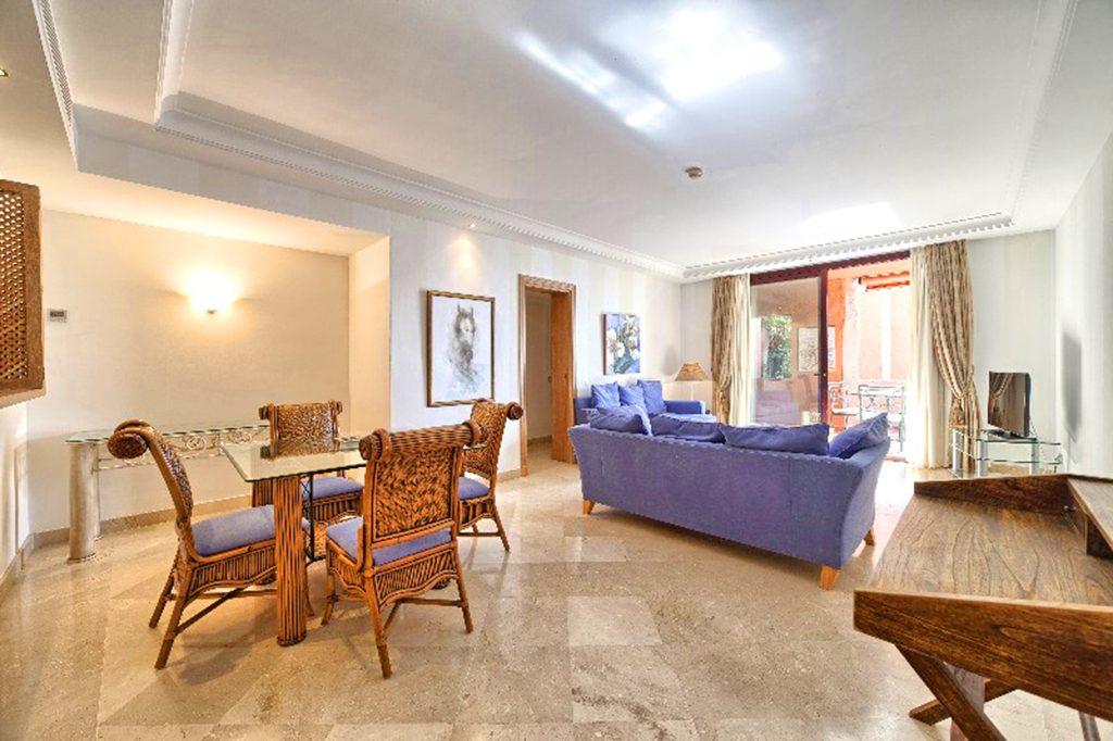 prestiżowy salon w luksusowym apartamencie na sprzedaż Hiszpania