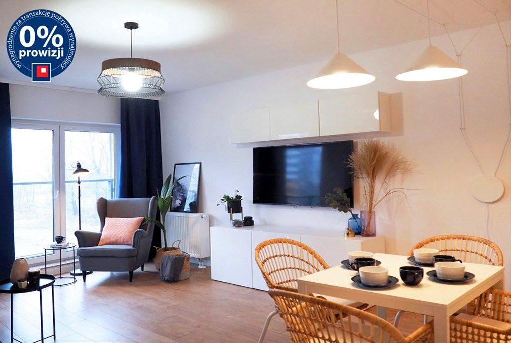 nowoczesny salon w ekskluzywnym apartamencie do wynajęcia Wrocław