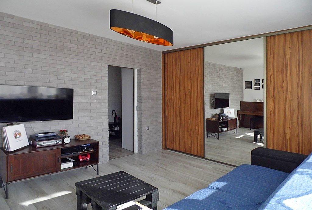 nowoczesny salon w ekskluzywnym apartamencie do sprzedaży Malbork