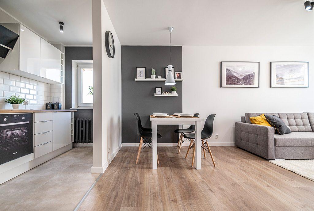 nowoczesne wnętrze ekskluzywnego apartamentu do sprzedaży Kalisz (okolice)