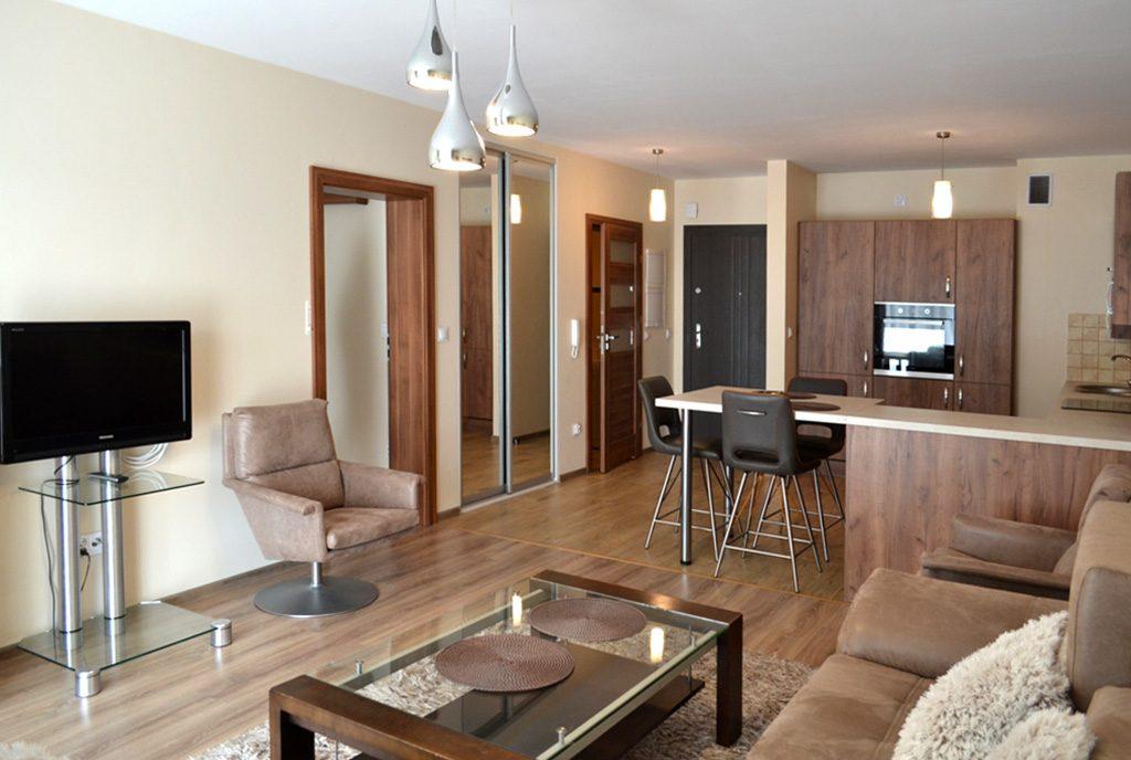 komfortowe wnętrze ekskluzywnego apartamentu do wynajęcia Bolesławiec