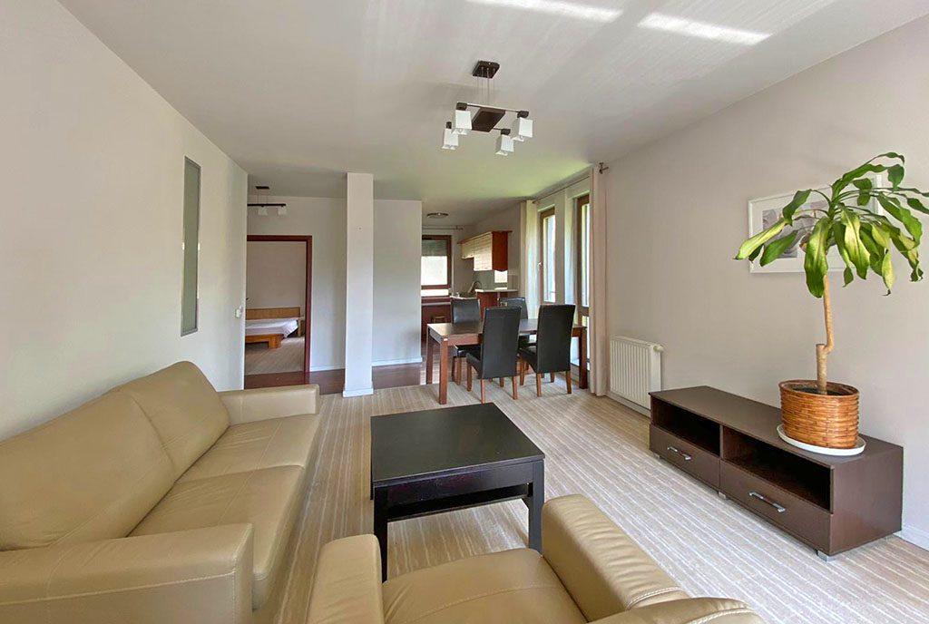 komfortowe wnętrze ekskluzywnego apartamentu do wynajęcia Szczecin