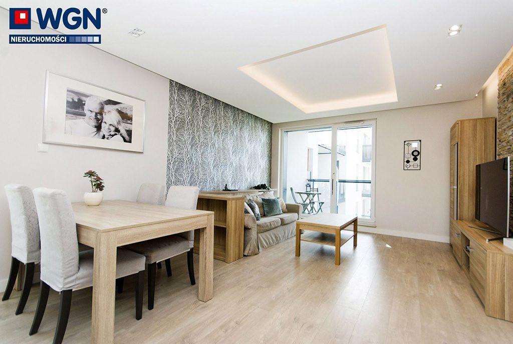 gustowna aranżacja wnętrza ekskluzywnego apartamentu do sprzedaży Gdańsk