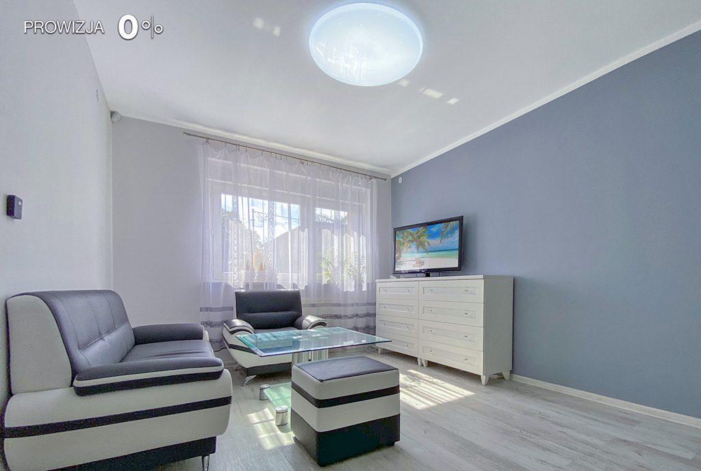 komfortowy salon w ekskluzywnej willi do wynajęcia Tarnowskie Góry