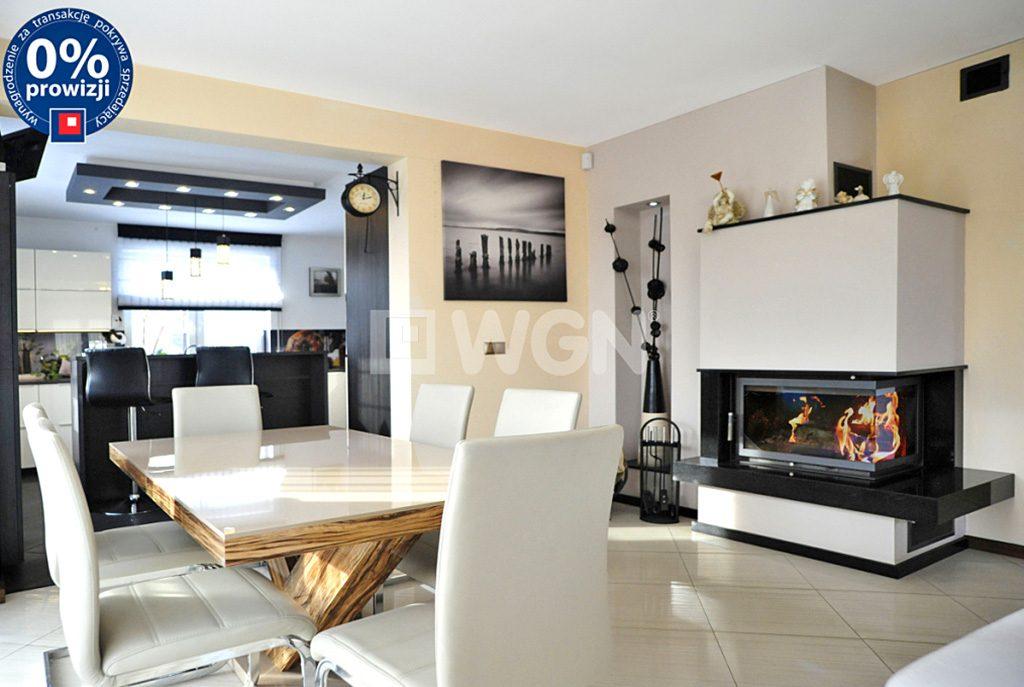 luksusowy pokój dzienny w ekskluzywnej willi do sprzedaży Katowice okolice